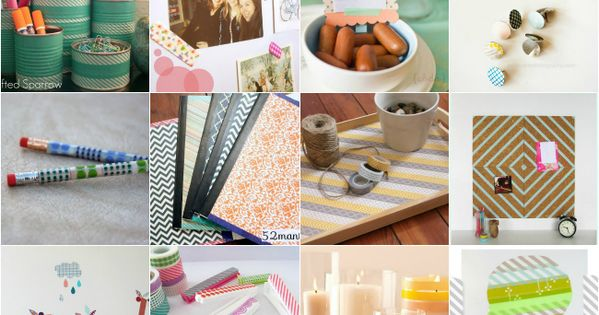 100 Ways to Washi - The Ultimate Washi Tape Projects Guide! If