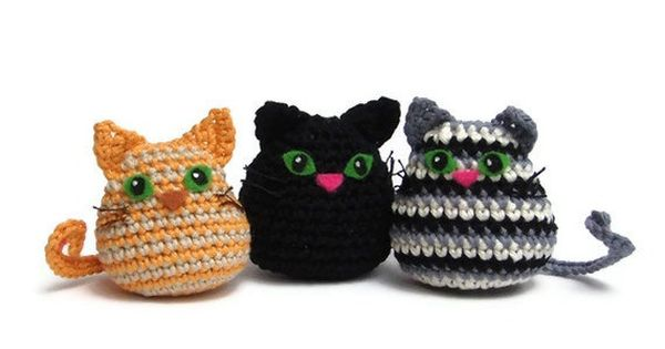 Amigurumi Star Wars Gratuit : cat crochet pattern pdf, quick and easy amigurumi cat ...