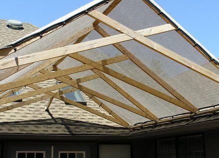 Scissor Truss Shade Structure The Home Yard Yard Misc
