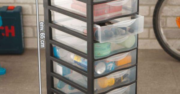tour de rangement aldi 15 99 les 8 tiroirs ateliers. Black Bedroom Furniture Sets. Home Design Ideas