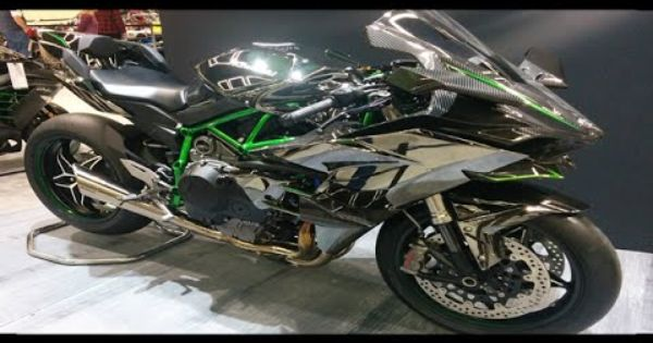 A Moto Mais Rapida Do Mundo Kawasaki Ninja H2r Youtube Motos