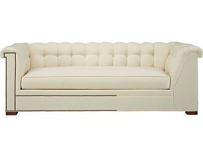 Kent Made To Measure Tufted Left Arm Facing Corner Sofa From The 1911 Collection Collection By Hickory Chair Furniture Co Sofa Corner Sofa Furniture Chair