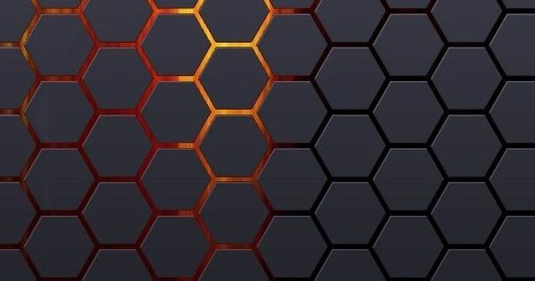 Pin By Ilikewallpaper Ios Wallpaper On Ipad Wallpapers: Hexagonal Grid Background #iPhone #5s #Wallpaper