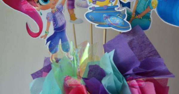 ON SALE Shimmer And Shine Centerpiece By