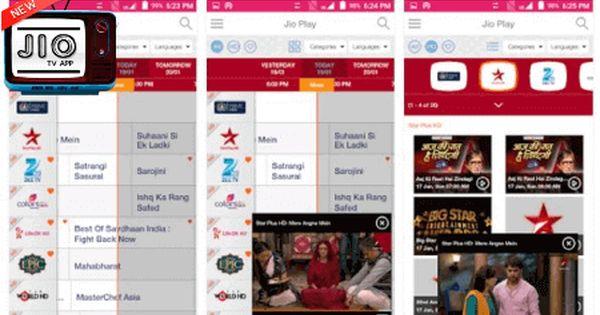 Download Jiotv Live Tv App With Images Tv App Live Tv Tvs