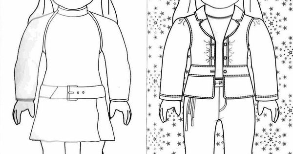 American Girl Coloring Pages Julie American Girl Doll