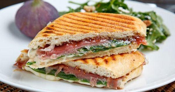 Fig and Prosciutto Grilled Cheese Sandwich   Recipe   Prosciutto, Figs ...