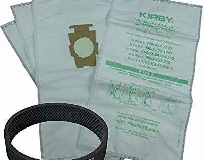 Amazon Com Avalir Kirby Microfiber Allergen Reduction Bags 204811 6pk C W Free Belt White In 2020 Kirby Kirby Vacuum Bags Kirby Vacuum