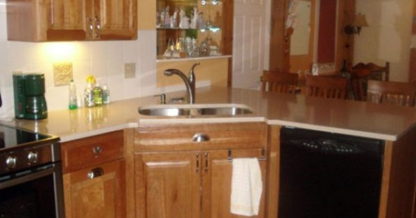 Best Corner Sink Base Cabinet Corner Kitchen Sink Cabinet 400 x 300