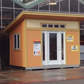 The Homedepot Is Selling These Mcm Style Shed Kits Wouldnt This Make The Best Sheshed I Want One Building A Shed Shed Design Shed Building Plans
