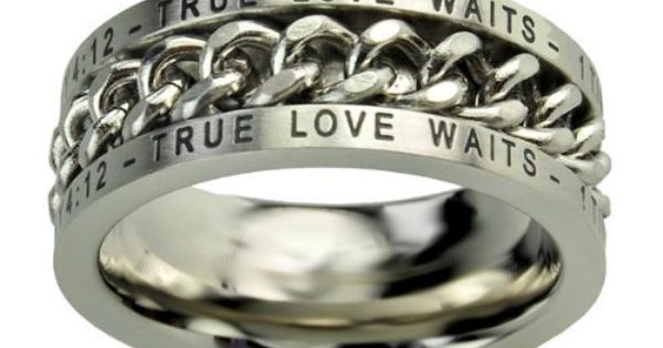 Christian Mens Stainless Steel 10mm Abstinence Quot True Love
