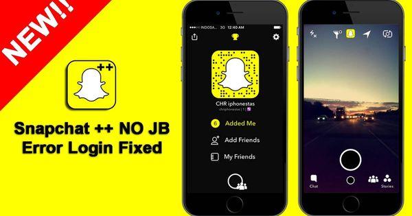 تحميل برنامج سناب شات بلس للايفون بدون جلبريك Ios إليكم الآن تطبيق سناب شات بلس للايفون هذا التطبيق مهم للغاية Party Apps Original Snapchat Device Management