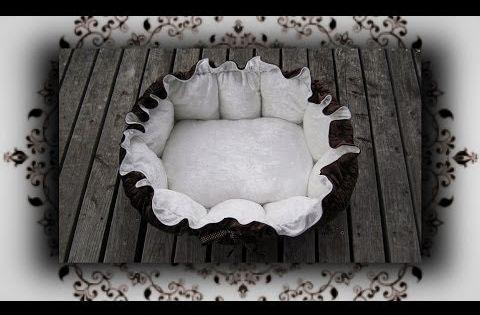 diy kuschelnest das bett f r katzen hunde selber n hen. Black Bedroom Furniture Sets. Home Design Ideas