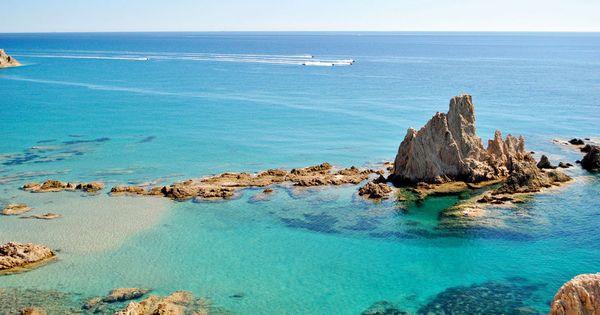Arrecife De Las Sirenas En Cabo De Gata Almería Playas Andalucia Mejores Playas De Andalucia Costa De Almeria