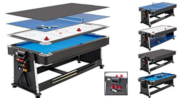 Mightymast Revolver Multi Games Table: Air Hockey, Pool And Table Tennis! |  Gym And Gameroom | Pinterest | Hockey Pool, Multi Game Table And Game Tables