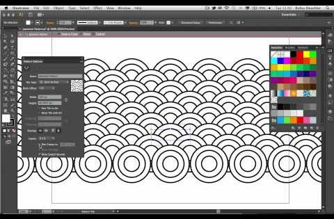 Create Patterns With Adobe Illustrator Cs6 Digital