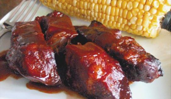 This is a delicious crock pot ribs recipe!