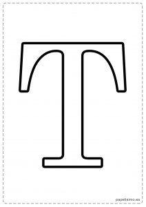 Letras Grandes Para Imprimir Com Imagens Alfabeto Para