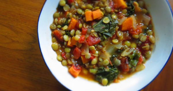 vegetarian smoky lentil soup recipe