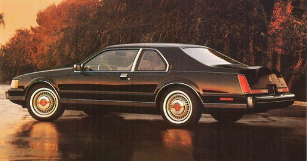 1984 Lincoln Continental Mark Vii Lincoln Cars Lincoln Continental Dream Cars