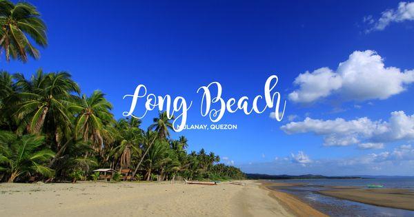 Long Beach in San Andres, Quezon, Philippines | QUEZON ...