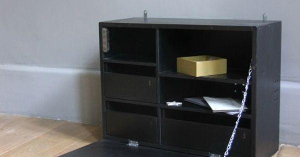 petit bureau mural d 39 appoint deco pinterest peintures murales et bureaux. Black Bedroom Furniture Sets. Home Design Ideas