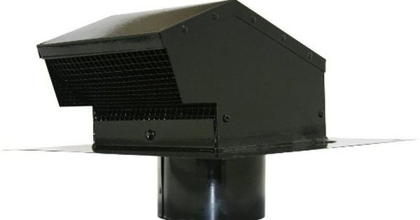 Speedi Products Ex Rcgc 04 4 Inch Diameter Galvanized Roof Cap With Collar Black Be Sure To Check Out This Awesome Product Galvanized Roofing