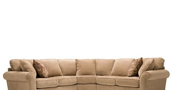 Wagner 3 Pc Chenille Sectional Sofa Sectional Sofas