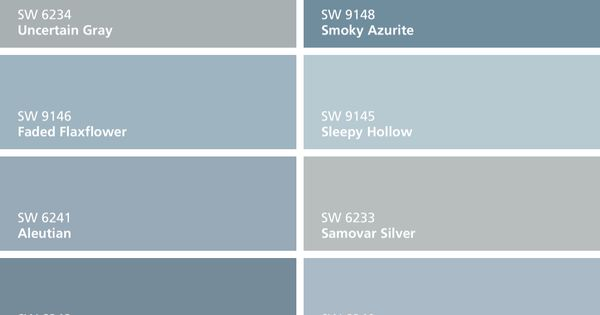I found these colors with colorsnap visualizer for iphone Sherwin williams uncertain gray