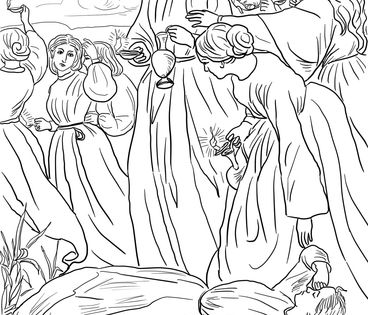 coloring pages 10 virgins - photo#16