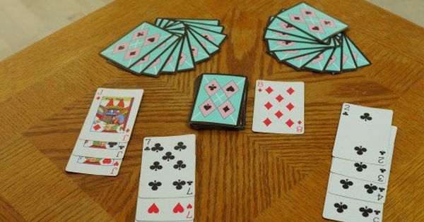Card Games For Two Players Fun Card Games Card Games For Kids Card Games