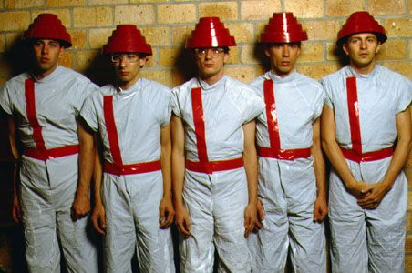 Devo Q Are We Not Men Freedom Of Choice With Images Are We Not Men Marching Band High School Marching Band