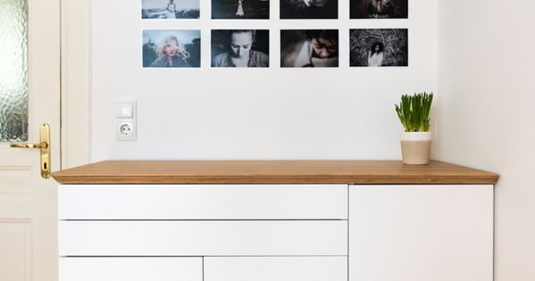 Oh i love this bamboo sideboard made from ikea kitchen for Bamboo kitchen cabinets ikea