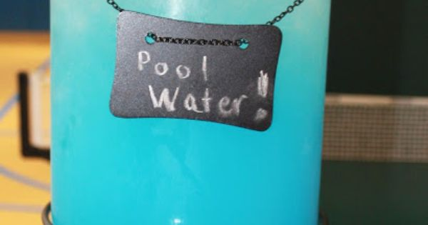 Pool Water Juice for the kids (Electric Lemonade) {Blue Hawaiian Punch +
