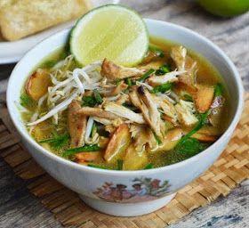 Resep Soto Ayam Semarang Asli Enak Resep Masakan Masakan Resep