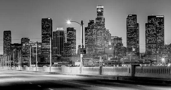 Los Angeles City Skyline Silhouette City Skyline Silhouette Skyline Silhouette Los Angeles Skyline