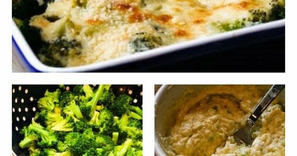 Broccoli Gratin with Swiss and Parmesan | Gratin, Broccoli Recipes and ...
