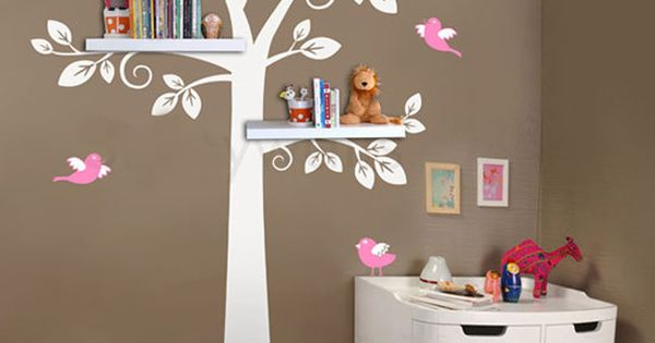 pas cher tag re murale arbre nursery stickers muraux
