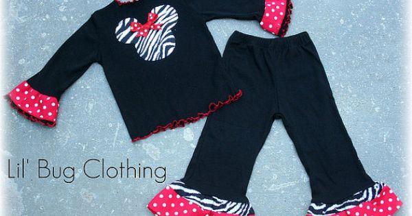 custom boutique minnie mouse zebra red white polka dot tee. Black Bedroom Furniture Sets. Home Design Ideas