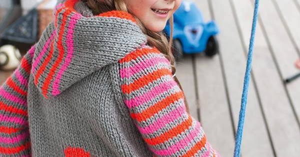 Free Knitting Pattern Hood Jacket : Hooded Jacket with Question Mark, S8904 - Free Pattern 4T ...