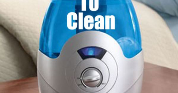 How To Clean Your Humidifier - (recommended weekly) use distilled H2O only