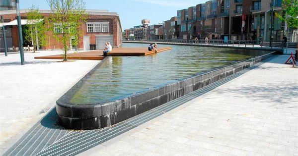Buro sant en co landschapsarchitectuur de knoop water for Buro water street