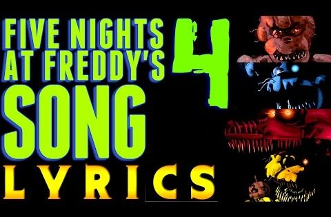 Five nights at freddy s fnaf and song lyrics on pinterest