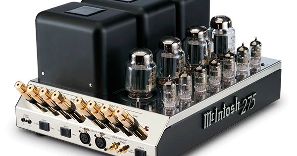 mcintosh mc275 most admired 2 channel tube amplifier with seven small led tubes audio. Black Bedroom Furniture Sets. Home Design Ideas