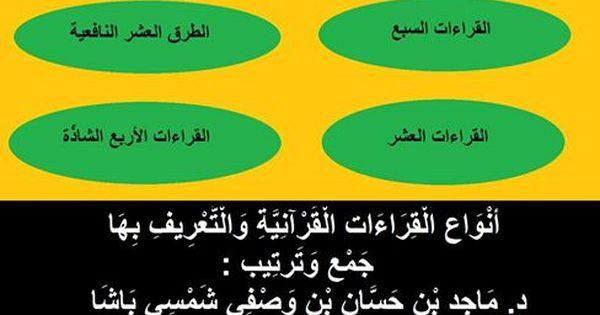 أنواع قراءات القرآن الكريم Pie Chart Chart Names