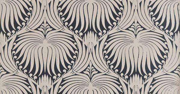 art nouveau papier peints wallpaper google search wallpaper pinterest farrow ball. Black Bedroom Furniture Sets. Home Design Ideas