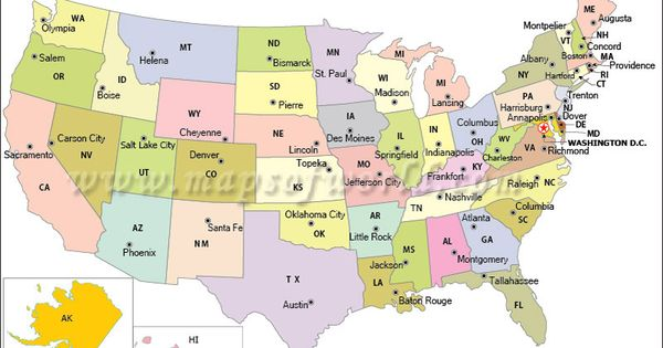Us Map Act Like A Kid Again Pinterest Maps Usa Usa And States And Capitals