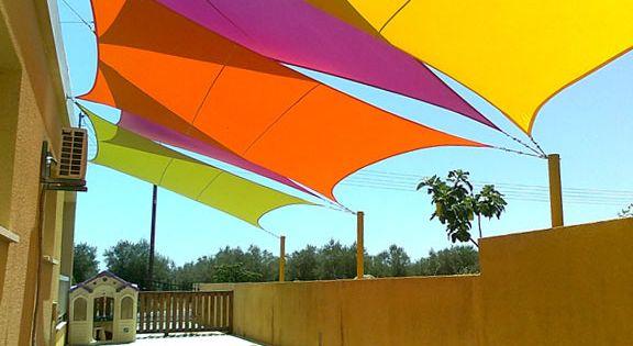 Instalaci n de toldos vela balcon pinterest sombras - Toldos sol y sombra ...