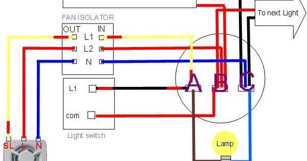 Extractor Fan Wiring Diagram