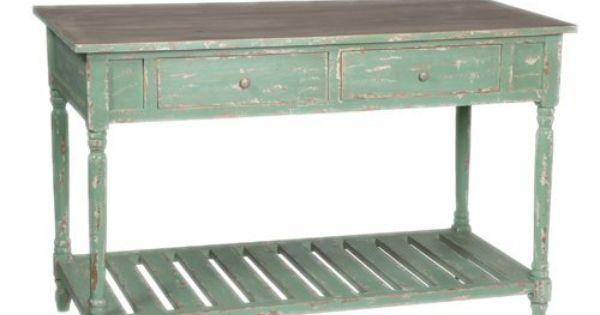 Pale Green Sideboard